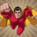 Amazing Superheroes Coloring