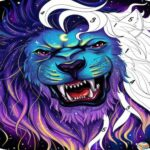 Animal coloring Book games-Free online