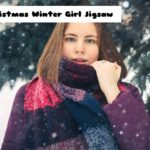 Christmas Winter Girl Jigsaw