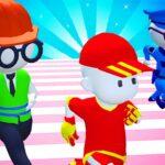 Knockout Fall Guys 3D Run – Royale Race